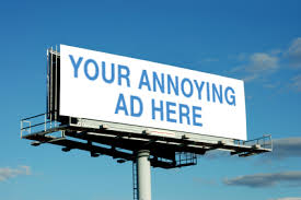 Annoying advertising, what you can do