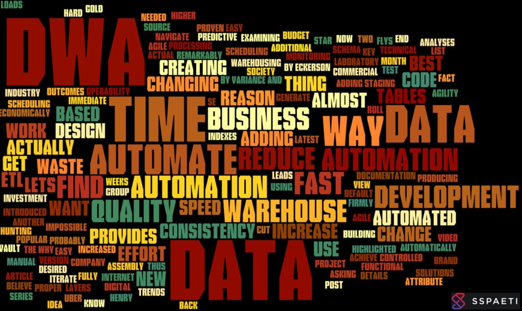 Why automate? What does Data Warehouse Automation for us?
